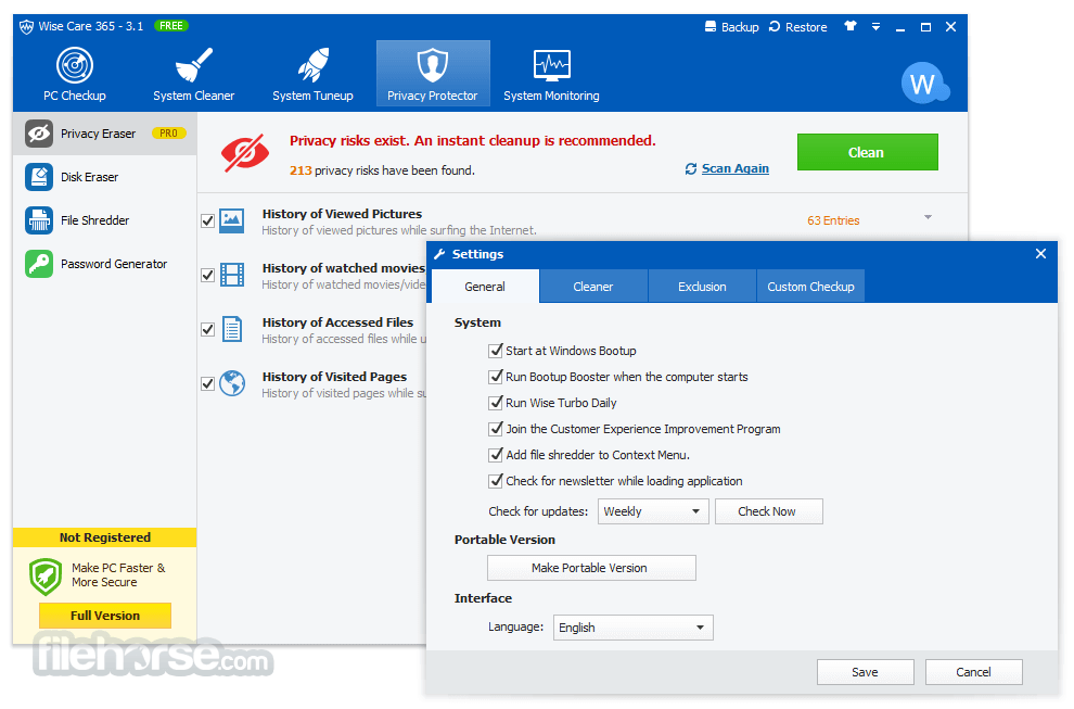 Wise Care 365 Pro 5.6.5 License Key