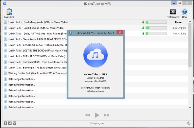 YouTube 4K MP3 Serial Key