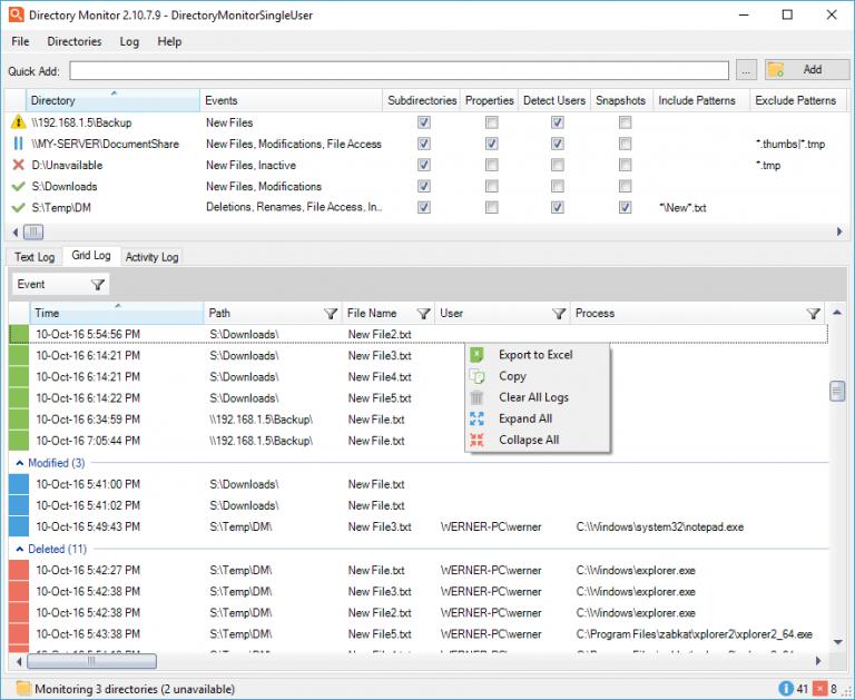 Directory Monitor Pro Serial Key