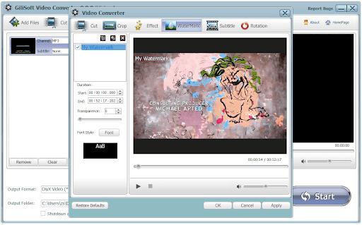 GiliSoft Video Converter Serial Key