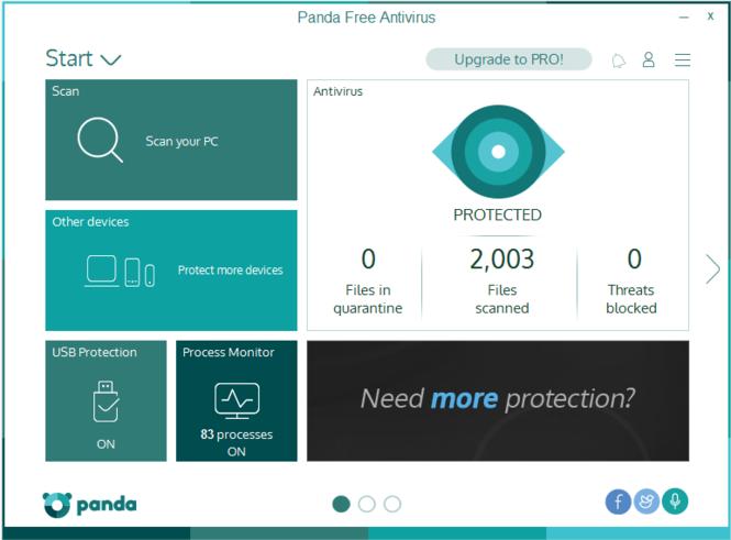 Panda Free Antivirus Serial Key