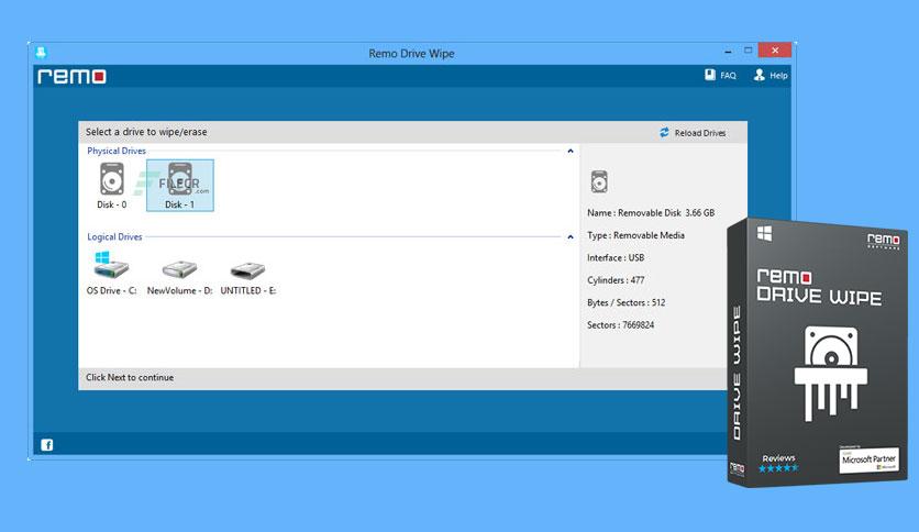 Remo Drive Wipe License Key