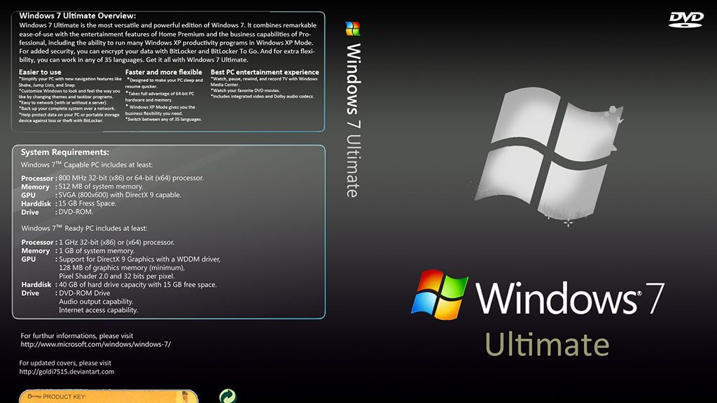 Window 7 Ultimate ISO License Key
