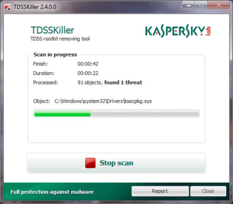 Kaspersky TDSSKiller Activation Key