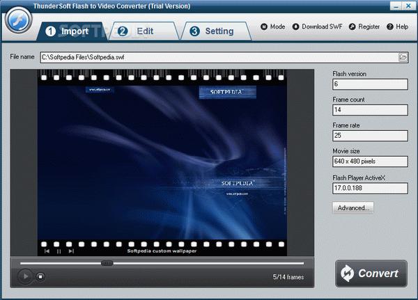 ThunderSoft Flash to HTML5 Converter License Key